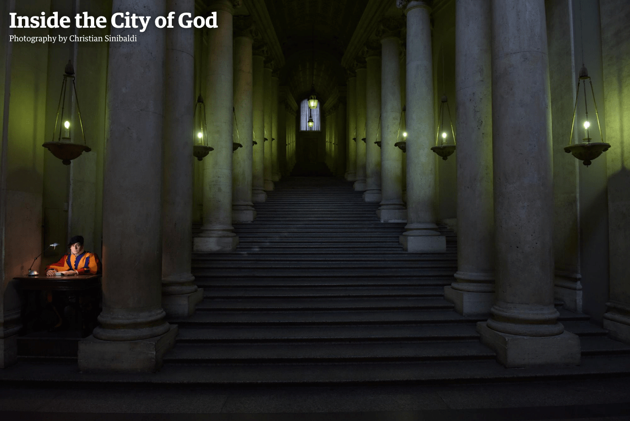 Pope Francis: behind the scenes in Vatican City – photo essay
