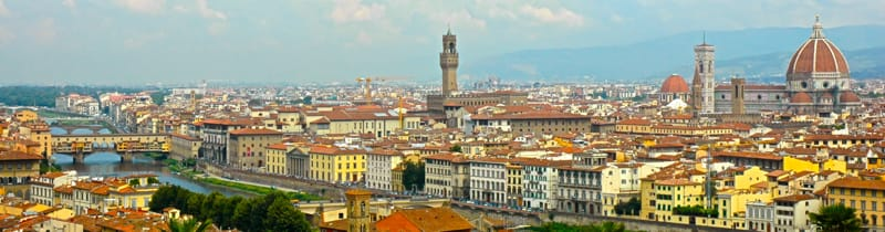 Florence, with Monastery Stays