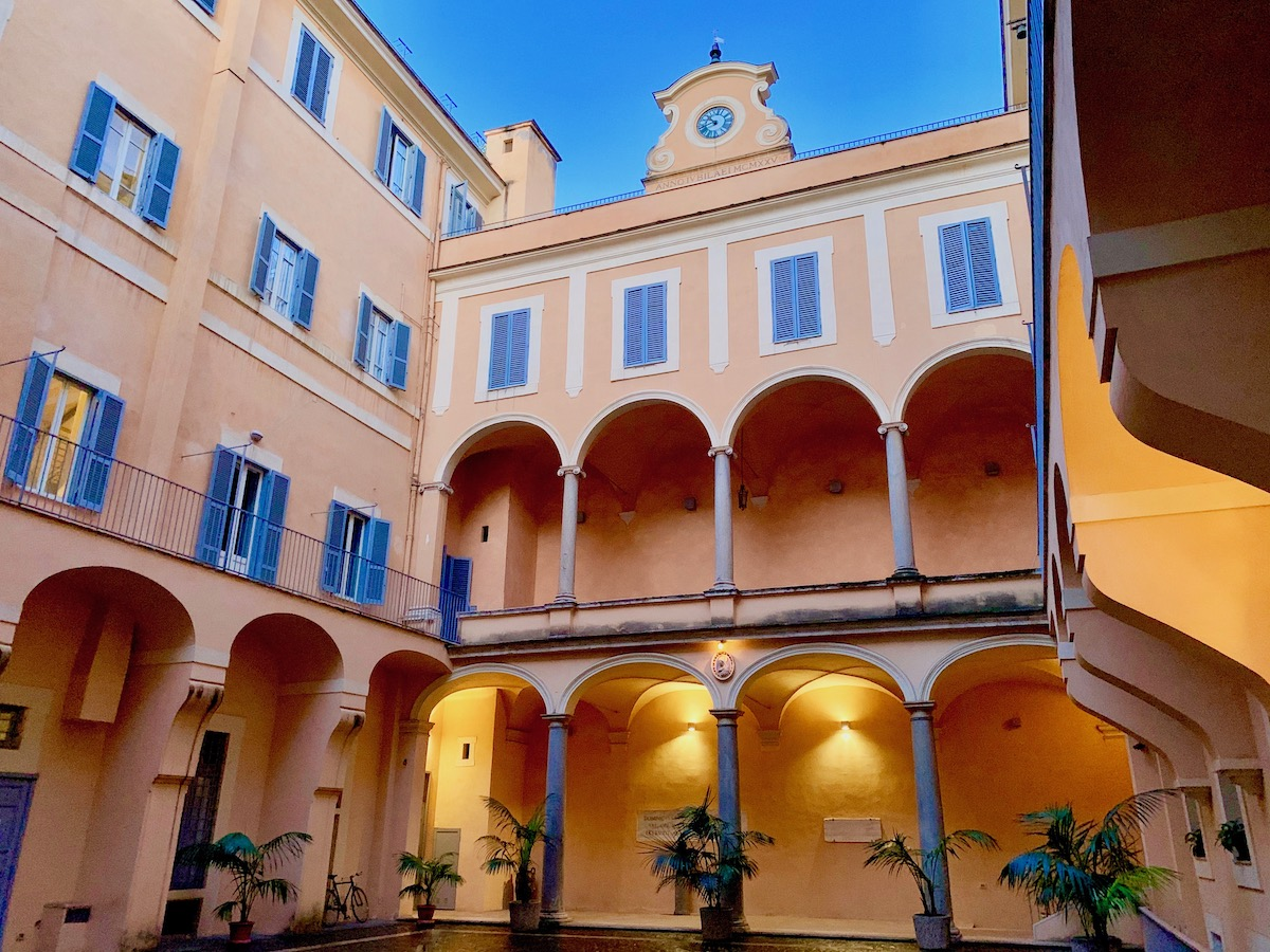 Rome, Monastery Stays
