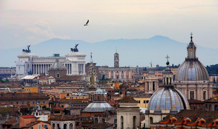 Rome Skyline, Monastery Stays